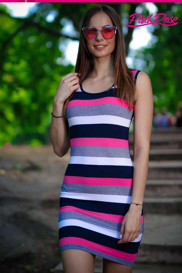 fd4920cc36 Ruha cikkszámú PINK ROSE Tunikák, miniruhák, ruhák 5990 Ft (€21) Ft-ért -  Full Fashion Webshop & Outlet
